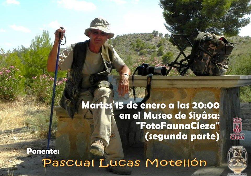 Este martes en el Siyâsa 2º parte de la conferencia 'FotoFaunaCieza' a cargo de Pascual Lucas Motellón