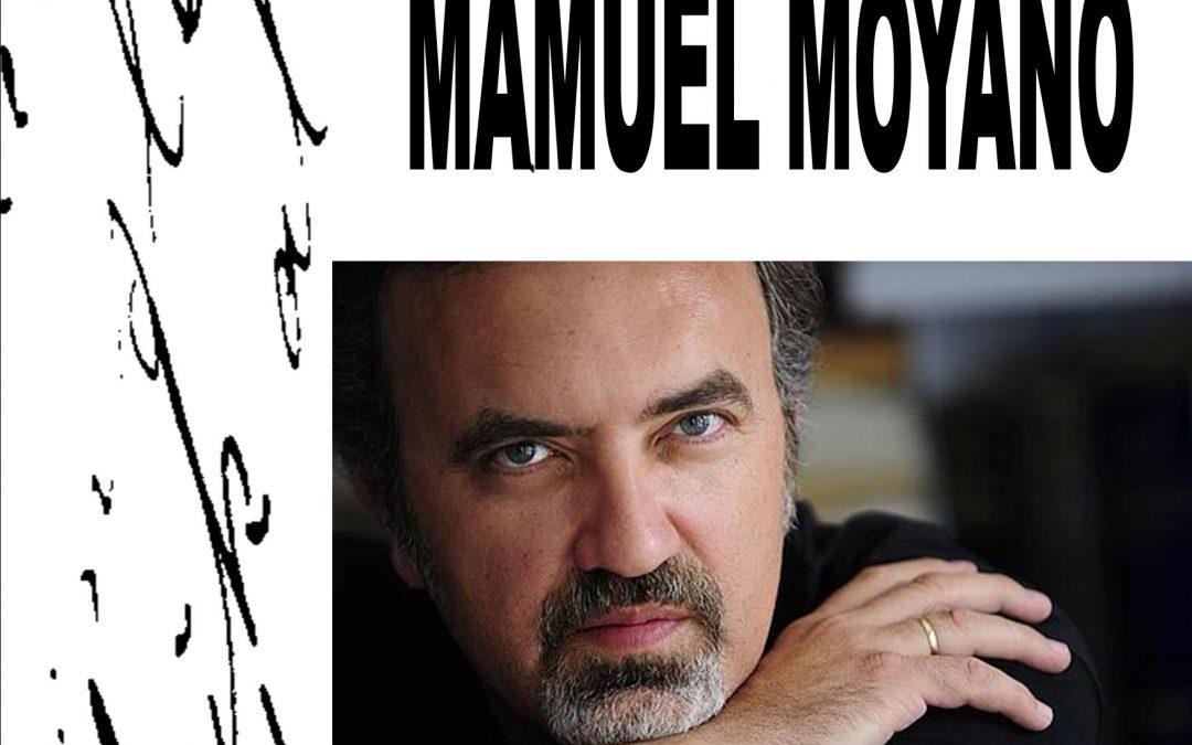 Encuentro con Manuel Moyano en la Biblioteca Padre Salmerón
