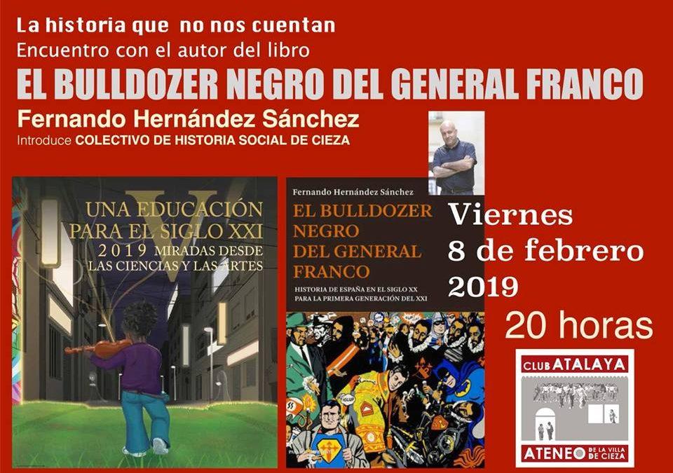 Presentación del libro 'El bulldozer negro del General Franco'