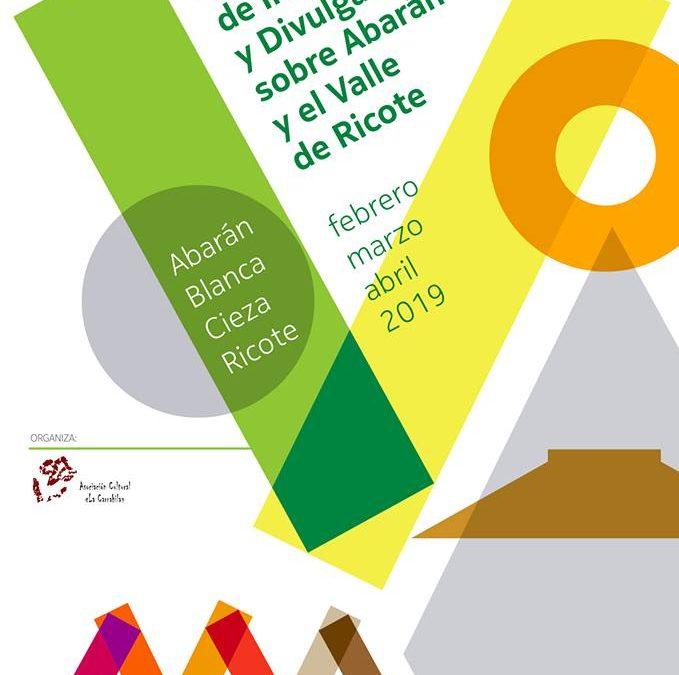 V Jornadas de Investigación y Divulgación sobre Abarán y el Valle de Ricote