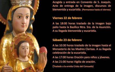 Visita de Nuestra Señora Santa María de la Arrixaca, antigua patrona del Reino de Murcia, a Cieza