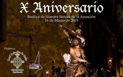 Misa de Difuntos y X Aniversario del trono de 'La Coronación de Espinas'