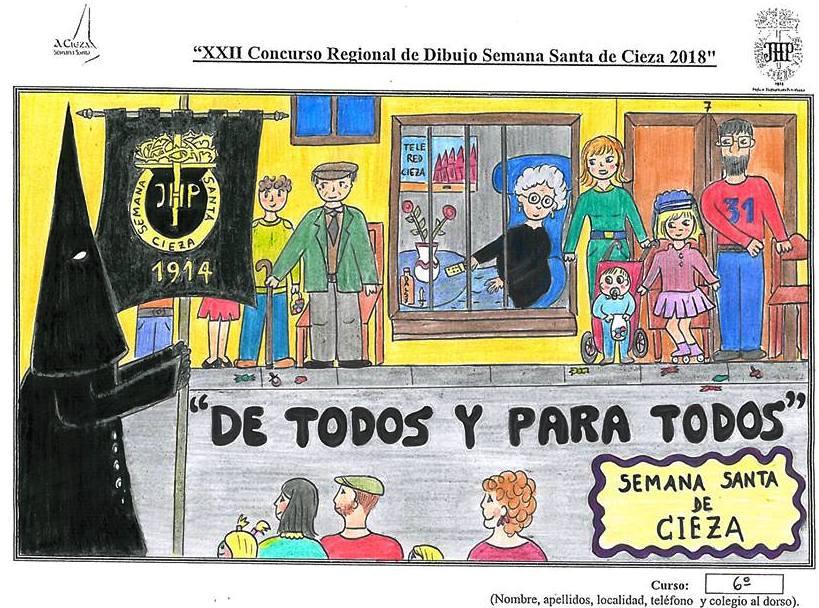 XXIII Concurso Regional de Dibujo Semana Santa de Cieza 2019