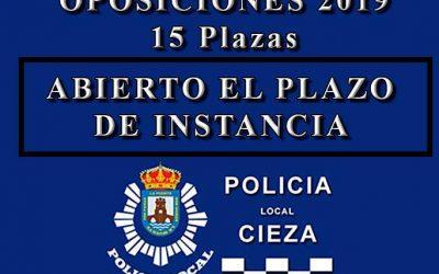 Oposiciones a Policía Local de Cieza