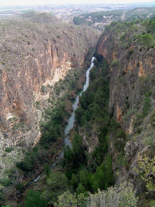 Foto del Cañón de Almadenes ubicado entre Cieza-Calasparra.