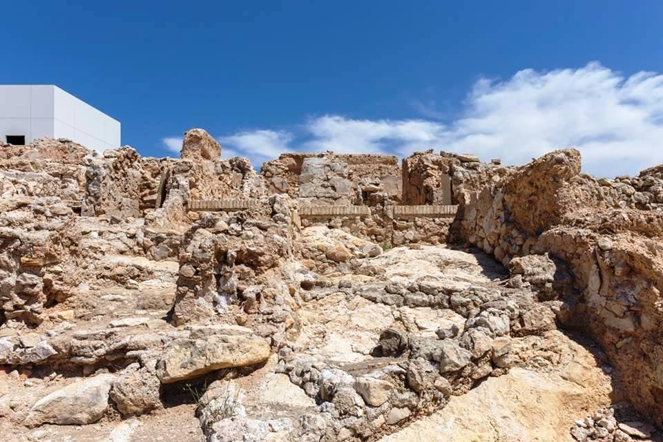 Imagen del Yacimiento Islámico de Medina Siyâsa en Cieza foto realizada por francis wu.