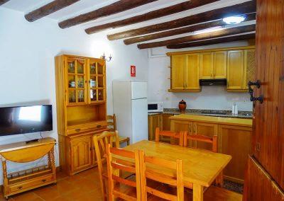 Foto de la cocina de la Casa Rural la Atalaya, Cieza.