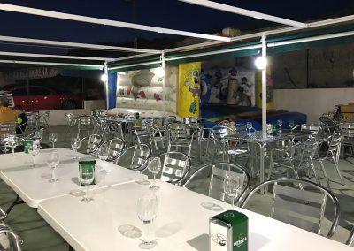 Terraza de Bar Restaurante La Morena, Cieza.