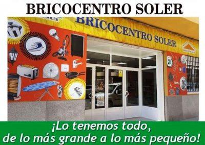 Foto de la Puerta principal de BricoCentro Soler, tu centro de bricolaje en Cieza.