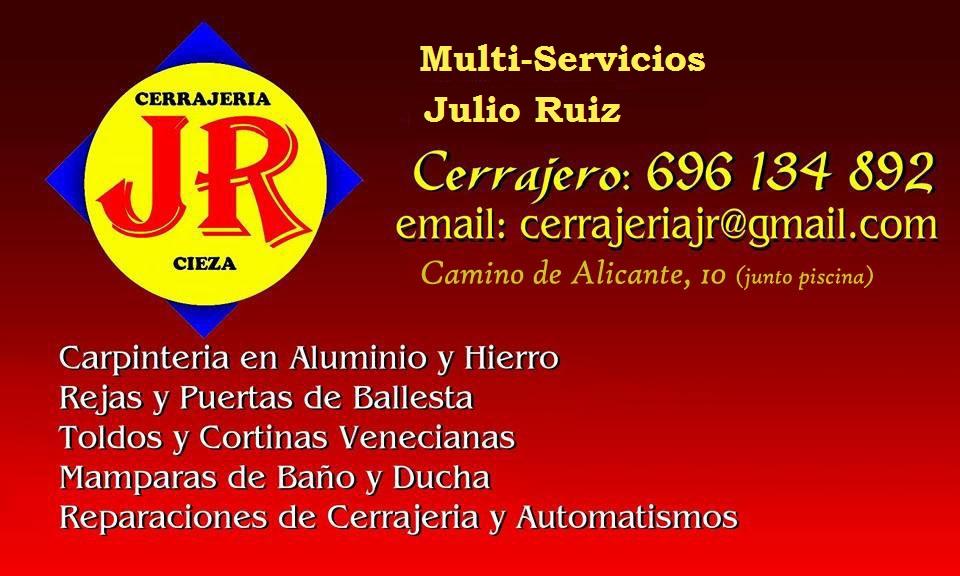 Cerrajería y Multiservicios JR