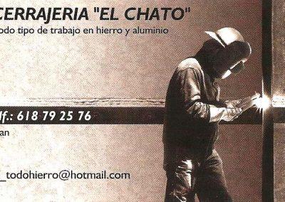 Imagen de la Tarjeta de presentación de Cerrajería El Chato