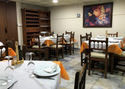 Foto del salón reservado en Restaurante Casa Mónaco en Cieza.