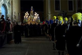 Misa en la Basílica de la Asunción en honor a nuestra Patrona y a los hermanos difuntos de la Cofradía del Nazareno