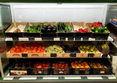 Fotografía Interior Supermercado Los Tres Puentes, Cieza.