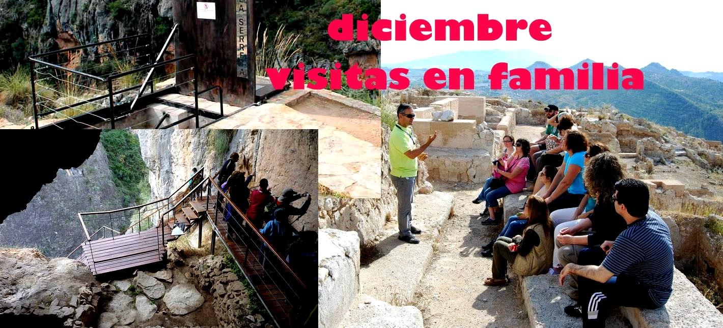 Fotografía de las Visitas guiadas a la Cueva de la Serreta y al yacimiento islamico de Medina Siyâsa en Cieza.