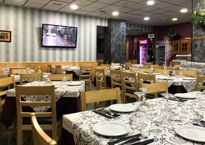 Foto del Salón Comedor del Restaurante Café-Bar Costa Rica en Cieza.