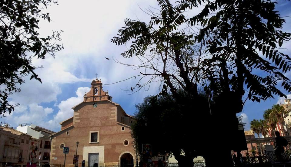 Imagen de la Parroquia de San Joaquín en Cieza.