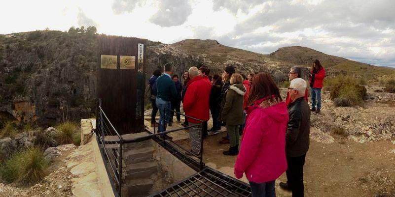 Visitas guiadas mes de diciembre a la Cueva de la Serreta, y al Yacimiento de Siyâsa