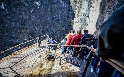 'Visitas Guiadas' a la Cueva de La Serreta durante la Feria de Cieza