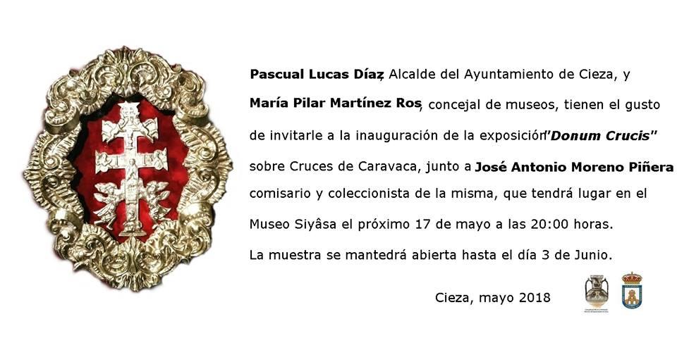 Inauguración de la exposición 'Donum Crucis' en el Museo de Siyâsa de Cieza
