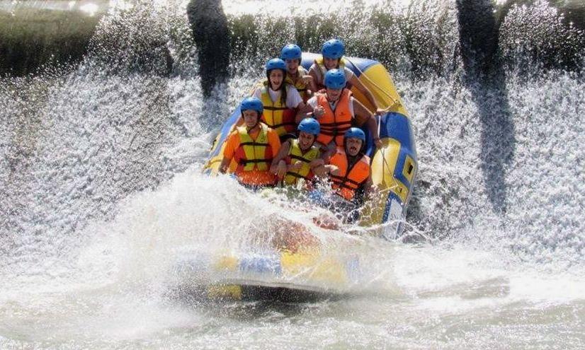 Imagen del Descenso en rafting por el río de Cieza a Blanca, presa del Jarral, Abarán.