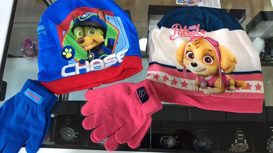 Gorro y guantes de niño en Mil Kosas Cieza.