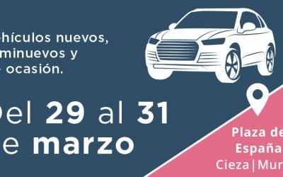 La V Feria del Automóvil de Cieza muestra el elevado potencial empresarial del sector en la comarca