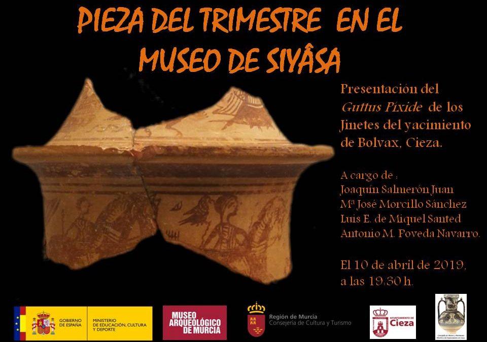 Exposición y presentación de la primera vitrina del trimestre en el Museo de Siyâsa