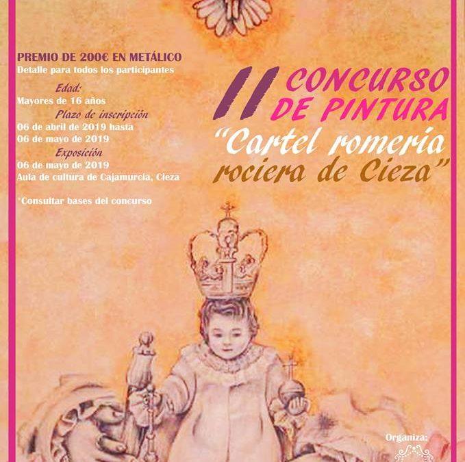"""II Concurso de pintura """"Cartel Romería Rociera 2019"""""""