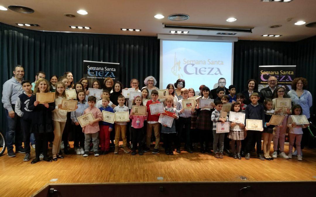 El Concurso Regional de Dibujo Semana Santa de Cieza entrega sus premios