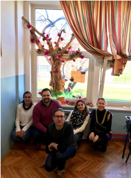 El Colegio Juan Ramón Jiménez lleva 'La Floración de Cieza' a Croacia