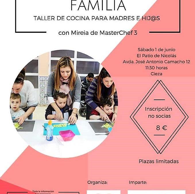 Taller de cocina para madres e hijos con Mireia de MasterChef 3