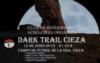 Dark Trail nocturna este sábado noche en Cieza