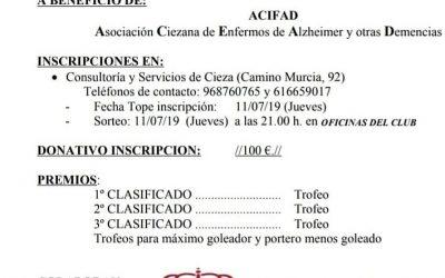 Campeonato de Fútbol Sala a beneficio de ACIFAD
