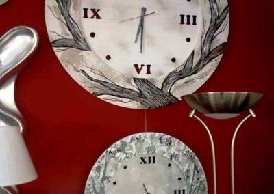 Relojes de pared en Decoración y Regalos Alarcón de Cieza.