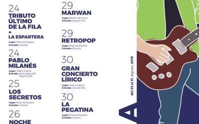 Programa de la Feria y Fiestas 2019 de Cieza, en honor a San Bartolomé