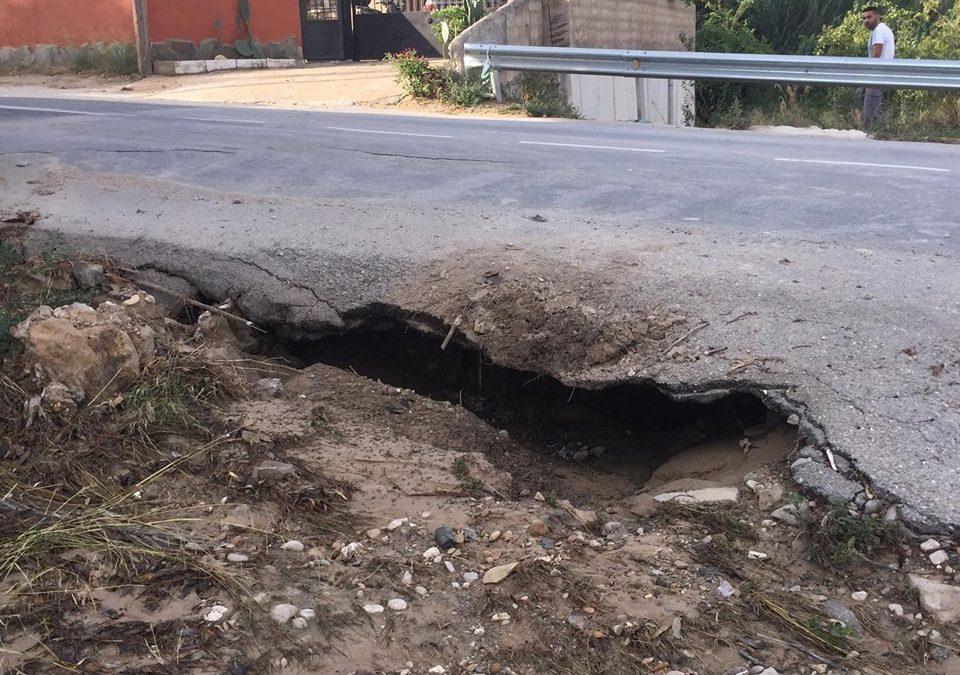 El Ayuntamiento de Abarán pide precaución en la RM-512 (Cieza-Abarán)