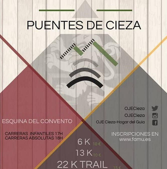 """IV Carrera Popular y el I Trail """"Puentes de Cieza"""""""