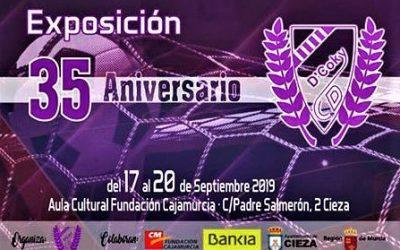 Exposición por el 35 aniversario de la fundación del club deportivo D'Coky