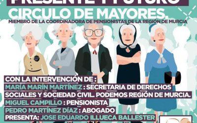 """""""Pensiones y mujer"""", a debate: el próximo jueves 10 de octubre, en la Biblioteca """"Padre Salmerón"""""""