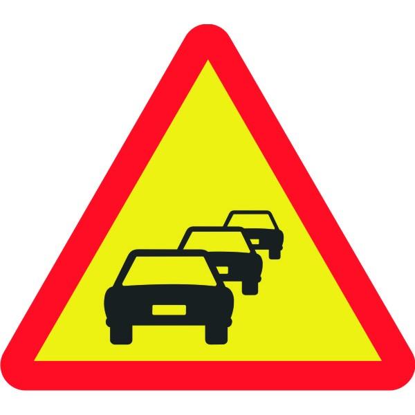 Retenciones de tráfico en la salida y entrada Cieza-Sur