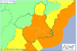 Avisos por fuertes lluvias este lunes y martes