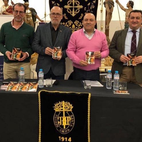 Radio en directo y presentación de la nueva Guía de Actos de la Semana Santa de Cieza 2020