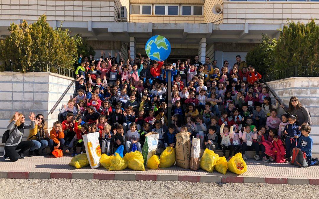El colegio José Marín desarrolla iniciativas que contribuyen al cuidado del medio ambiente