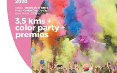 III Color Run Floración de Cieza organizada por OJE