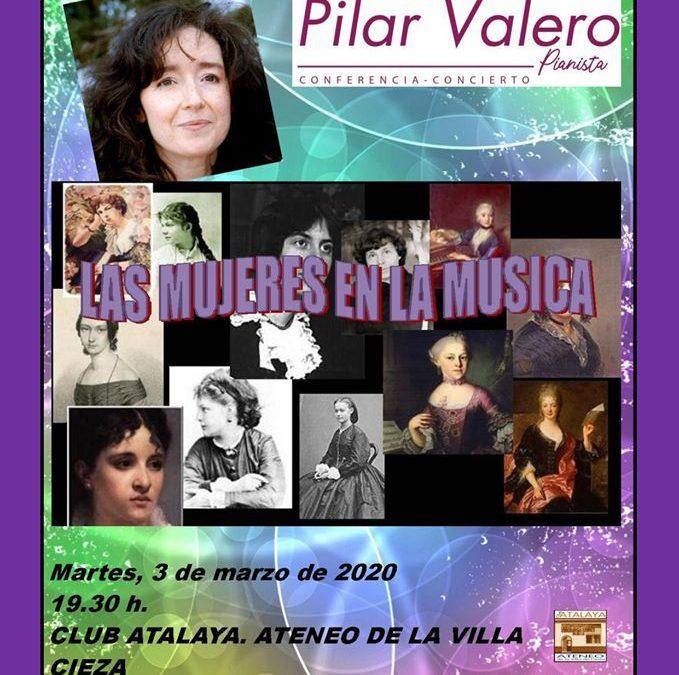 Jornadas sobre la Mujer en el Club Atalaya organizadas por Podemos Cieza