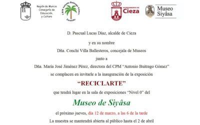 'Reciclarte' próxima exposición en el Museo de Siyâsa