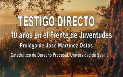 Presentación del libro 'Testigo directo' del ciezano Eduardo López Pascual