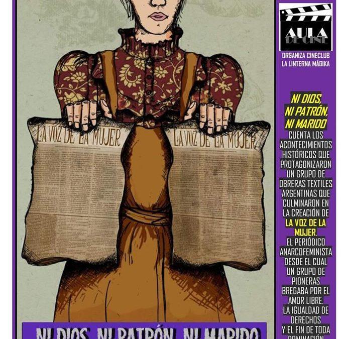 """Proyección de la película """"Ni Dios, ni patrón ni marido"""" en el Club Atalaya"""
