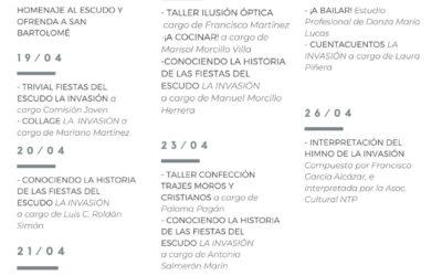 """La Comisión de Fiestas del Escudo """"La Invasión"""" organiza una semana de actividades en redes sociales"""
